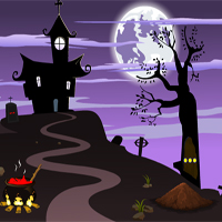 Free online flash games - Escape007Games Halloween Hill Cave Escape