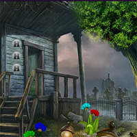 Free online flash games - G4K Escape From Graveyard House