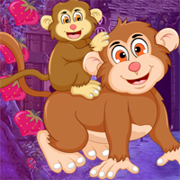 Free online flash games - Cuddly Monkeys Escape game - WowEscape