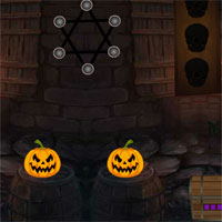 Free online flash games - 8bGames Halloween Mask Girl Escape