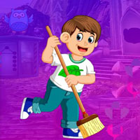 Free online flash games - G4K Cleaning Staff Escape game - WowEscape