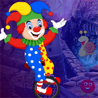 Games4King Cycling Clown Escape