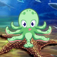 Free online flash games - Octopus Underwater Escape game - WowEscape