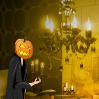 Free online flash games - Games2rule Halloween Light Show House Escape game - WowEscape