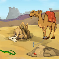 Desert Camel Rescue Games4Escape