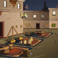 Free online flash games - Ena The True Criminal  The Market