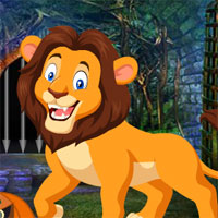 Free online flash games - G4K Lion Rescue From Cave 2