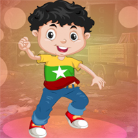 Free online html5 games - Games4King Cheered Little Boy Escape game