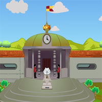 Free online flash games - Red Fort King Escape