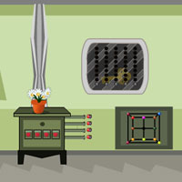 Free online flash games - Warehouse Secret Door Escape