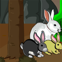 Free online flash games - Bunny Forest Escape game - WowEscape