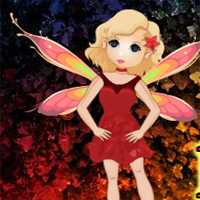 Free online flash games - Big Fantasy Butterfly Fairy Escape game - WowEscape