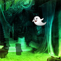 Free online flash games - Big Fantasy Halloween House Escape game - WowEscape