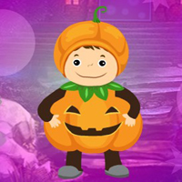 Free online flash games - G4K Pretty Pumpkin Boy Escape