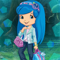 Free online flash games - G4K Blueberry Muffin Girl Escape