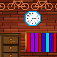 Free online html5 games - 8b Brick House Escape game