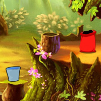 Free online html5 games - Escape From New Year Fantasy Forest game