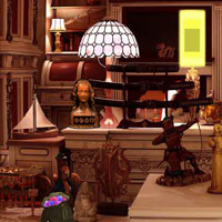 Free online flash games - Antique Historical House Escape Games2rule game - WowEscape
