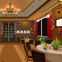 Free online flash games - New Year Party Restaurant Escape KnfGame game - WowEscape