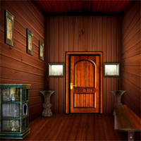 Free online flash games - NSREscapeGames Halloween Wooden House game - WowEscape