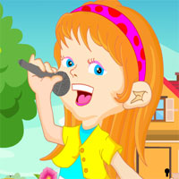 Games4King Young Singer Girl Rescue Escape