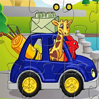 Free online flash games - Lego Car Zoo Animals RaceCarGamesOnline game - WowEscape