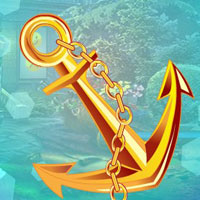 Free online flash games - G4K Find Gold Ship Anchor game - WowEscape