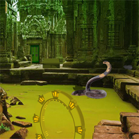 Free online flash games - Mystery Fiction Temple Escape