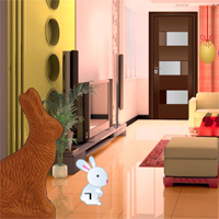 Free online flash games - Easter Bunny House Escape
