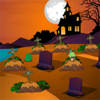 Free online flash games - Graveyard Treasure Rescue