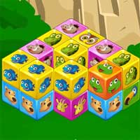 Animal Cubes Puzzle