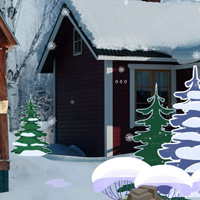 Free online html5 games - GFG Christmas Cottage Rescue game