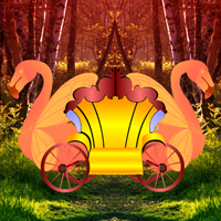 Free online flash games - Fantasy Swan Cart Escape game - WowEscape