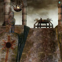 Free online flash games - Gloomy Cemetery Escape