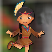 Free online flash games - AVMGames Dancing Tribe Girl Escape game - WowEscape