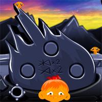 Free online flash games - MonkeyHappy Monkey Go Happy Stage 127