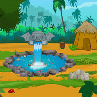 Free online flash games - Baby Monkey Cave Escape