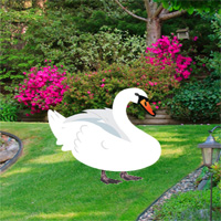 Free online flash games - Games2rule Botanic Garden Swan Escape game - WowEscape