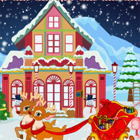 Free online flash games - Santa Claus Gift Delivery game - WowEscape