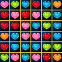 Free online flash games - LofGames Hearts Blocks Collapse game - WowEscape