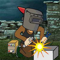 Free online flash games - Find The Welding Mask