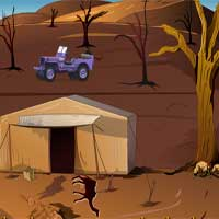Escape From Desert Using Helicopter KnfGame