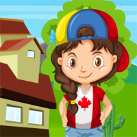 Free online flash games - G4K Canadian Girl Rescue
