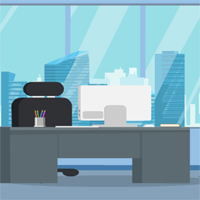 Free online flash games - Office Room Escape Games4Escape game - WowEscape