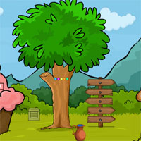 Free online flash games - Games2Jolly Mushroom Rescue  game - WowEscape