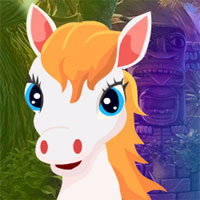 Free online flash games - White Horse Escape game - WowEscape