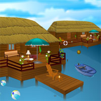 Free online flash games - Resort Escape 5nGames