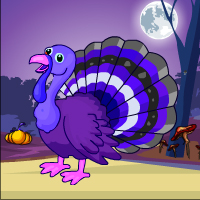 Free online flash games - Games4Escape Turkey Dark Forest Escape