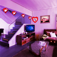 Free online flash games - Top10NewGames Valentine House Escape 5 game - WowEscape