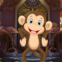 Free online flash games - Games4King Cute Monkey Rescue 2